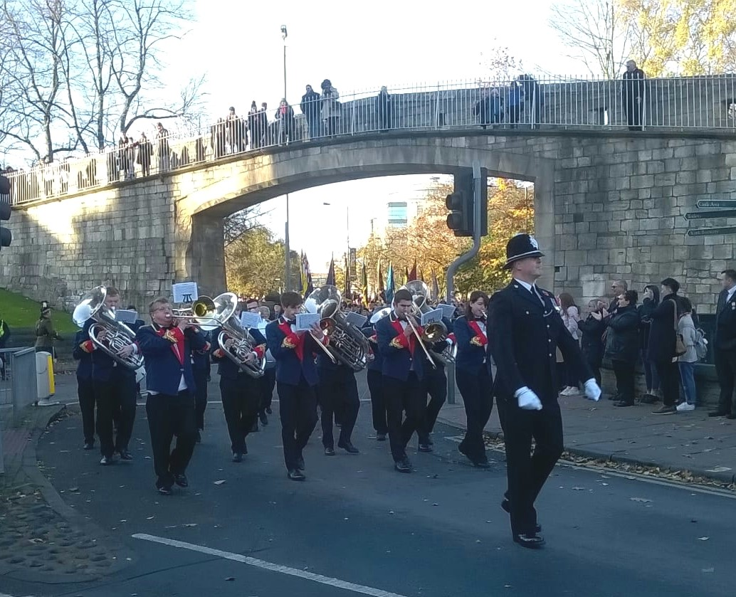 Remembrance Day Parade, York 2017
